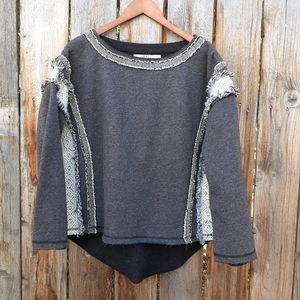 BNCI Boundless North Clothing Int'l Fringe Sweater